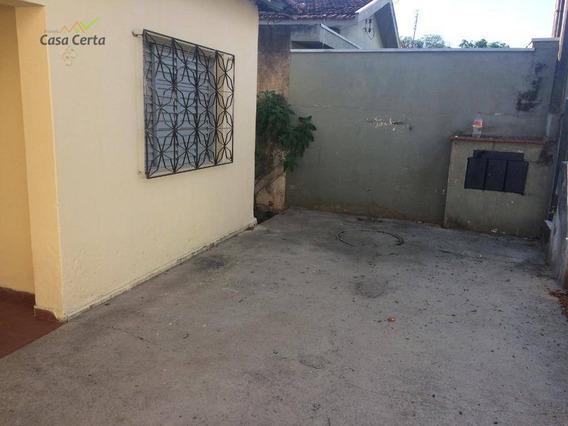 Casa Com 2 Dormitórios Para Alugar, 80 M² Por R$ 600/mês - Jardim Centenário - Mogi Guaçu/sp - Ca1443