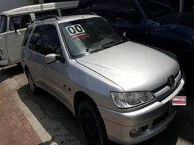 Peugeot 306 1.8 Soleil Break 16v 2000 Troco Por Kombi