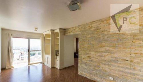 Imagem 1 de 12 de Apartamento Com 2 Dormitórios Para Alugar, 68 M² Por R$ 1.800/mês - Santa Terezinha - São Paulo/sp - Ap0674