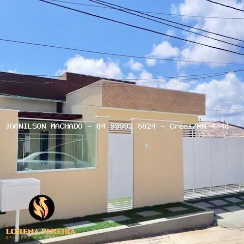 Casa Em Condomínio Para Venda Em Parnamirim, Nova Parnamirim - Condomínio Rua Praia De Pium, 3 Dormitórios, 3 Suítes, 4 Banheiros, 2 Vagas - Cas0984-rua Pium