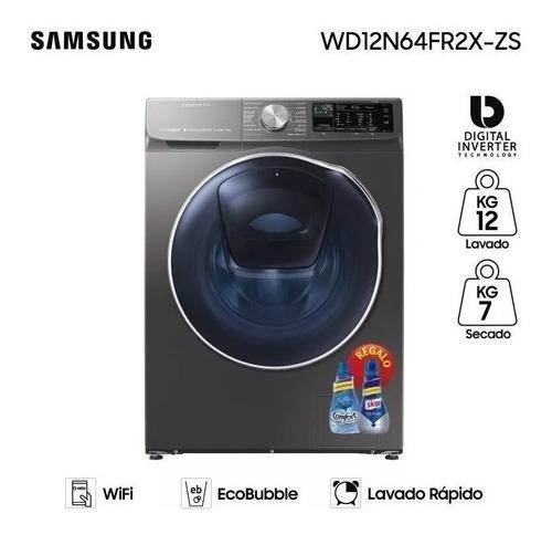 Lavasecarropas Samsung 12kg Lav 7kg Sec Wd12 Inverter Albion