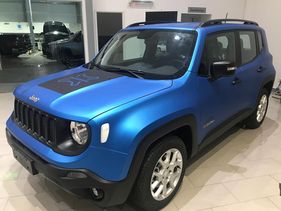 Nueva Jeep Renegade 1.8l Sport At6 Contado!!. 2020 Única!!!