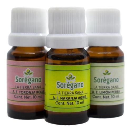 Sorégano Kit 2 Aceites Esenciales Cítricos De Yucatán