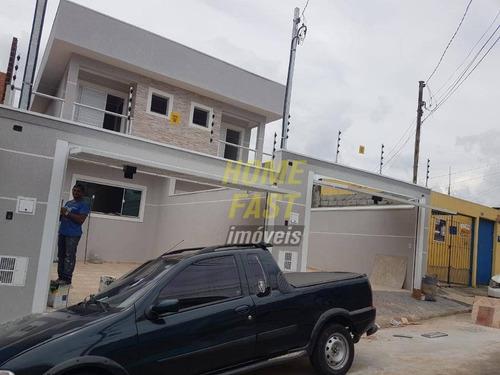 Sobrado Com 3 Dormitórios À Venda, 92 M² Por R$ 520.000,00 - Jardim Bela Vista - Guarulhos/sp - So0735