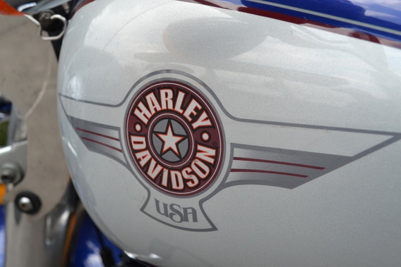 Impresionante Harley Davidson Softail Fat Boy 1450 Emplacada