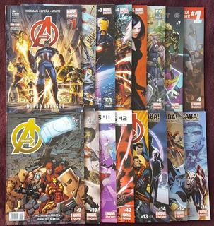 Avengers Marvel Now Completa Ovni Press 16 Tomos Libro Comic