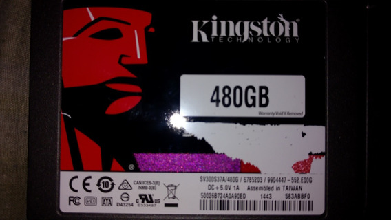 Ssd Kingston 480 Gb Ssdnow 300v