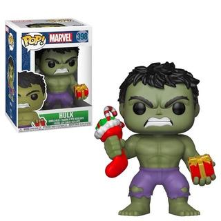 Funko Pop Holiday Hulk 398 Marvel Baloo Toys