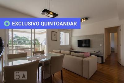 Apartamento No 15º Andar Mobiliado Com 2 Dormitórios E 2 Garagens - Id: 892927280 - 227280