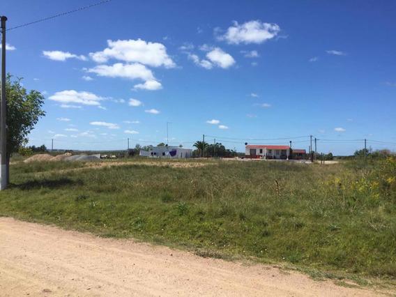 Terreno En Casupa! Relleno Pronto Para Edificar 1500 Metros
