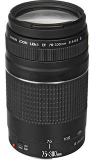 Lente Canon Ef 75-300mm Zoom F/4-5.6 Iii Eos T6 80d T7i