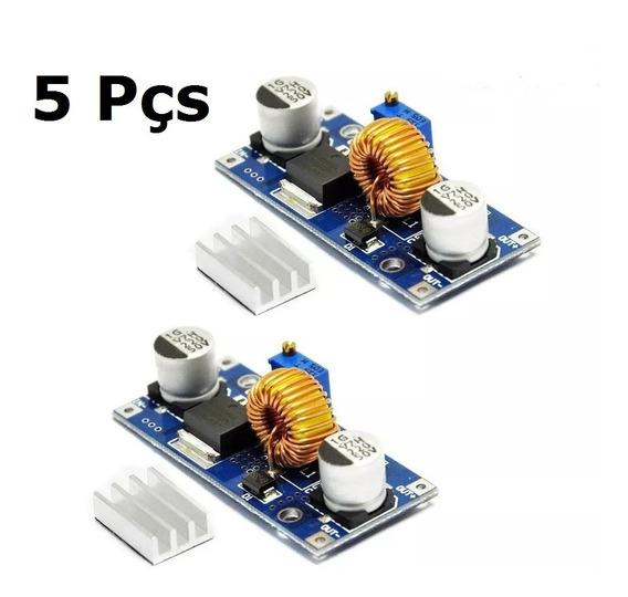 5pcs Regulador Tensão Fonte Dc 5a Step-down Xl4015