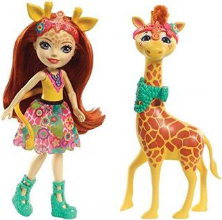 Enchantimals Gillian Giraffe S Munecas De Moda