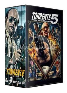 Torrente Saga Completa Dvd Colección Española 5 Peliculas