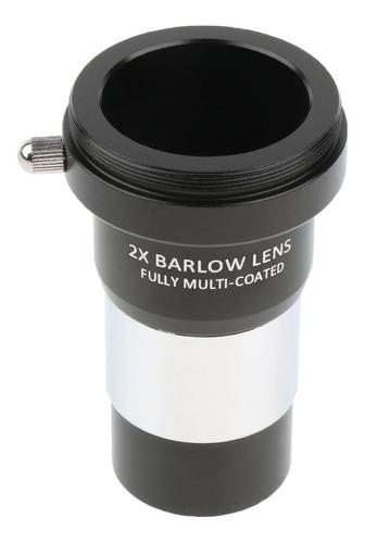 Imagen 1 de 8 de 1 Pieza Telescopio Ocular Barlow Lente 2x 1.25  T Universal