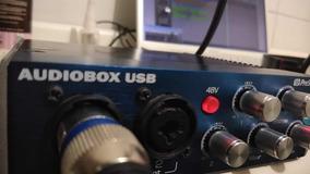 Placa De Audio Audiobox 2i2