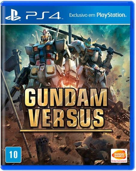 Gundam Versus Midia Fisica Novo Lacrado Ps4