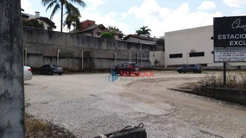 Terreno Para Alugar, 1400m² Por R$ 35.000,00/mês - Jardim Aquarius - São José Dos Campos/sp - Te0263