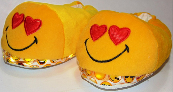 Pantuflas Emojis Caritas C/led Mira El Video 25/36 772