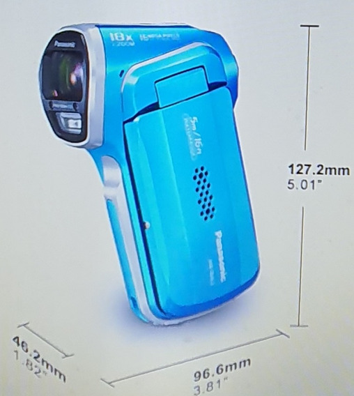 Câmera Panasonic Hx-wa3