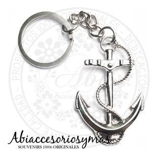25 Souvenirs Llavero Ancla Tematica Nautica