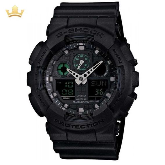 Relógio Casio G-shock Masculino Ga-100mb-1adr Com Nf