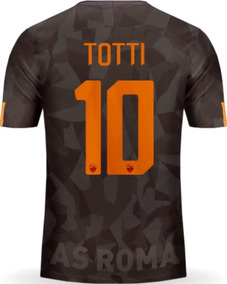 3bc160ffb8ee Jersey Roma 2018 Visita Negro Francesco Totti Envío Gratis