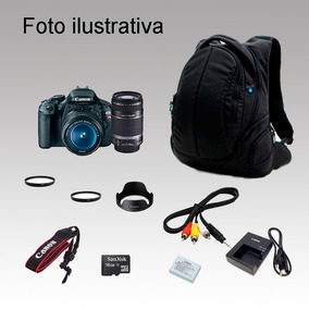 Camera Fotografica Canon T3i , 337 Clicks Kit Maquina