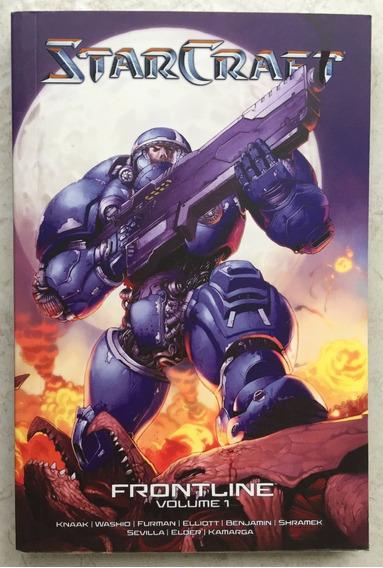 Starcraft - Livro Blizzard Frontline Vol. 1 ( Nova Versão )