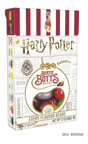 Caja Dulces Bertie Botts Harry Potter Grageas 1.2 Oz