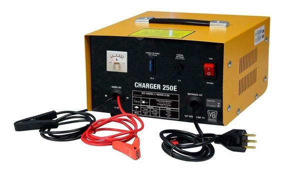 Carregador De Bateria Portátil 25a Bivolt Charger V8-250e