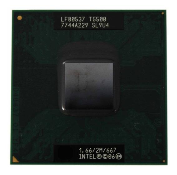 Processador Notebook Core 2 Duo T5500 1.66ghz (11963)