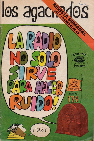 Los Agachados No. 174 - Año 5 - Oct - 1974 - Ed. Posada