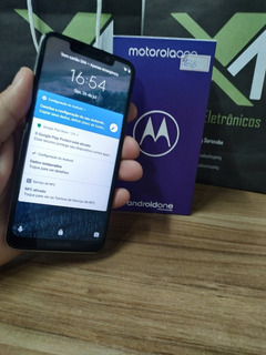 Motorola One 64 Gb - Parcelo Ate 12 X Sem Juros