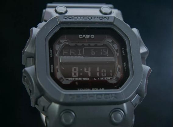 Relógio G-shock King Gx56 Bb1 Bateria Solar Original Zerado!