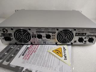 Amplificador De Potencia Behringer 6000 Watts