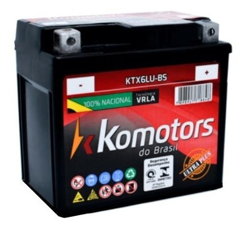 Bateria Moto 6 Ah Cg,titan,biz,bros,fan,factor,crf230,xre300
