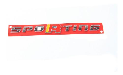 Emblema Sporting Fiat Uno 11/15