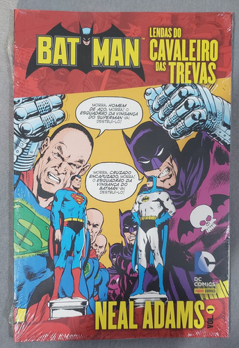 Batman Lendas Do Cavaleiro Das Trevas Neal Adams 1 Raro