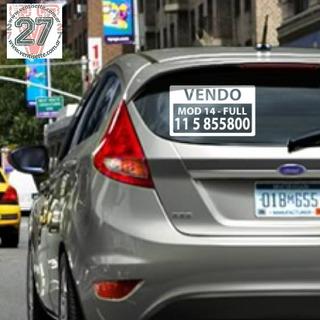 Cartel Calco Para Vender Auto X3 Unidades Oferta!!!