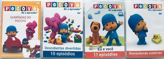 Kit 4 Dvds Pocoyo