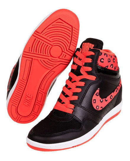 Zapatillas Cuero Wmns Nike Force Sky High Print