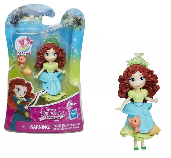 Boneca Princesas Disney - Little Kingdom Merida