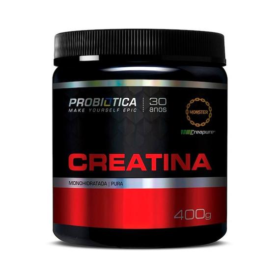 Creatina 100% Pura Creapure 400g - Probiótica