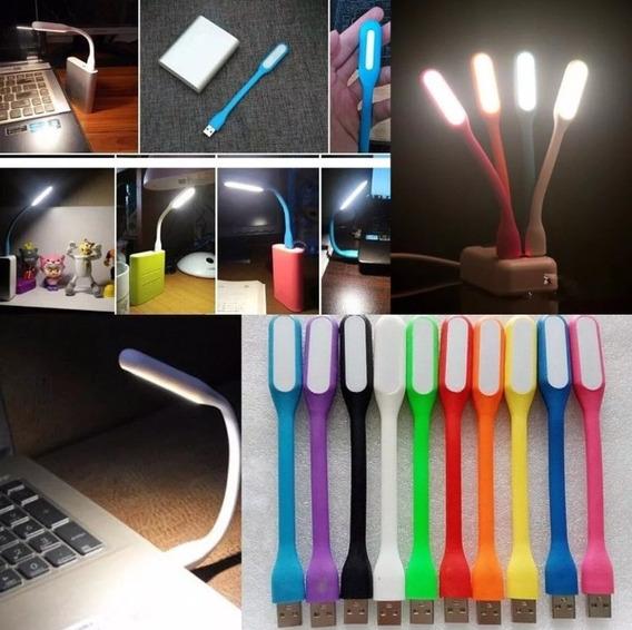 Luminária Mini Luz Led Usb Kit Com 10