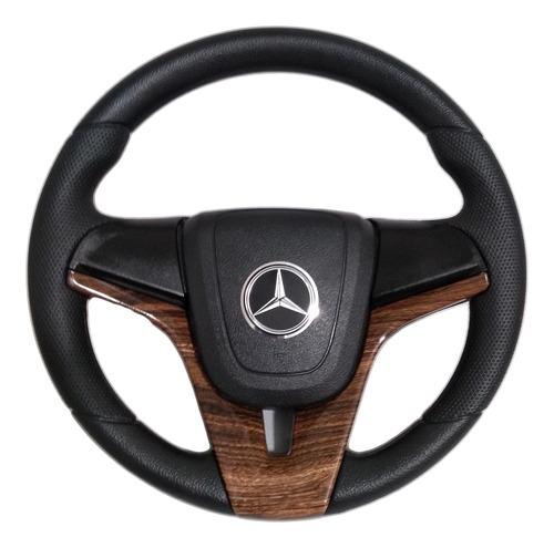 Volante Esportivo Caminhão Mercedes Cruze Madeira Mb 2831