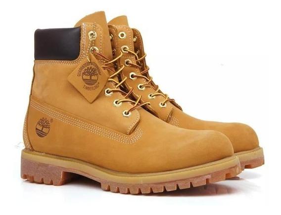Bota Timberland Yellow Boot 6 Original- Preço Promocional