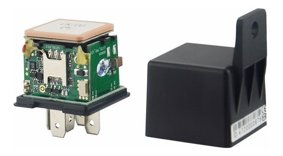 Veicular Automotivo Rastreador Rele Gps/gsm Super Micro