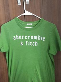 Playera Verde Abercrombie & Fitch
