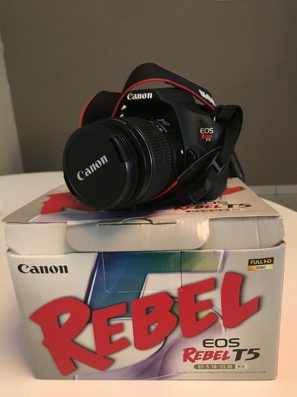 Câmera Canon T5 Rebel